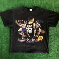 vintage 90s jason kidd t shirt