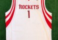 vintage tracy mcgrady Houston Rockets authentic nba jersey size 48