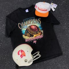 vintage tampa bay buccaneers super bowl xxxvii champs shirt