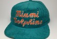 vintage 90s miami dolphins nfl snapback hat